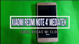 Unlock Micloud Xiaomi Note 4 Mediatek Support Miui 9 Account Mi Active Clean 100%