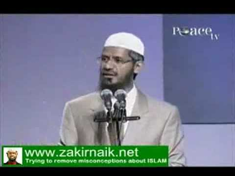 Zakir Naik About Sania Mirza Issue (indian Tennis Star) - Www.zakirnaik.net video