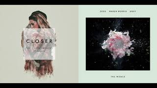 Download Lagu The Chainsmokers & Zedd - Closer / The Middle (Mashup) feat. Halsey, Maren Morris Gratis STAFABAND