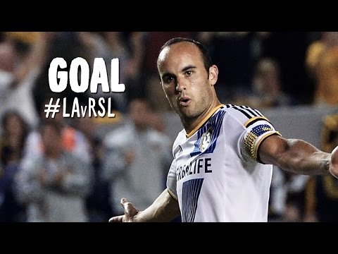 GOAL: Landon Donovan finishes from Robbie Keane on the break | LA Galaxy vs. Real Salt Lake
