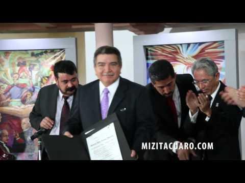 Celebran 203 Aniversario de la instalación de la SJNA en Zitácuaro