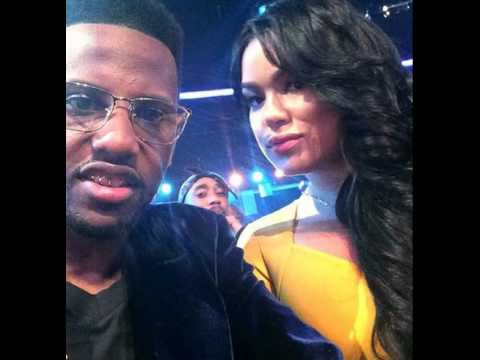 Tupac still alive! Seated behind Fabolous at B.E.T. Awards 2014