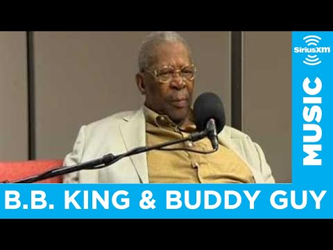 BB King and Buddy Guy on Meeting Jimi Hendrix on SIRIUS XM Radio
