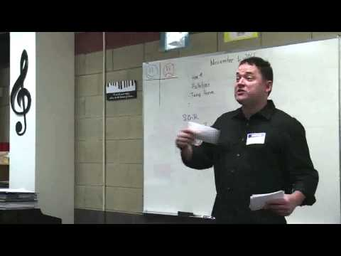 James PatrickSong--Presentation on Songwriting-Pansophia Academy Coldwater MI