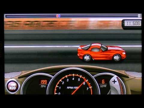 Drag Racing 21.495 TUNE Career Mode level 6 boss Dodge Viper