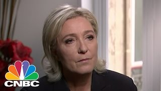 Marine Le Pen: Very Happy With Election Of Donald Trump | Squawk Box | CNBC
