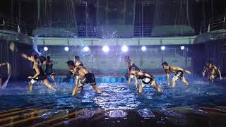 Symphony of the Seas Water Show April 2019