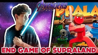ENDGAME OF SUPRALAND😂😂| HELLO NIEGHBOUR JESI GAME | PART 2 | FUNNY ANDROID GAME  ||  AVENGERS