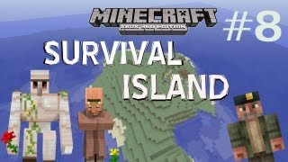 Minecraft Xbox: Let's Play Survival Island Ep.8 - Iron Golem