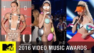 Meat Dresses to Purple Pasties Remembering Iconic VMA Looks   2016 Video Music Awards   MTV