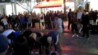 Street Performers on the 3rd Street Promenade in Santa Monica