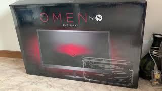 OMEN by HP 25 Display Monitor auspacken