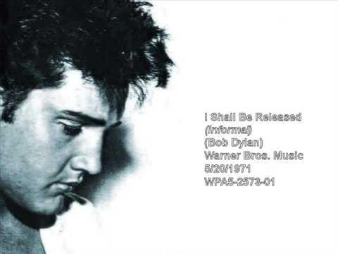 Elvis Presley - I Shall Be Released (Informal Recording)