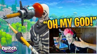 "Ninja Reacts to ""This will NEVER happen again!"" (Twitch Moments Fortnite Reaction)"