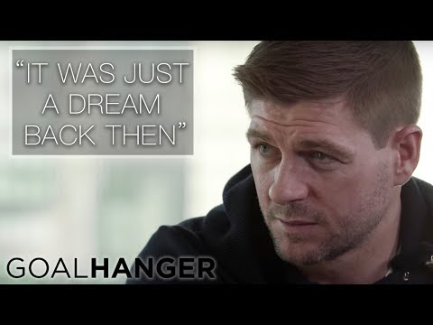 Gary Meets Steven Gerrard || On The Road To FA Cup Glory