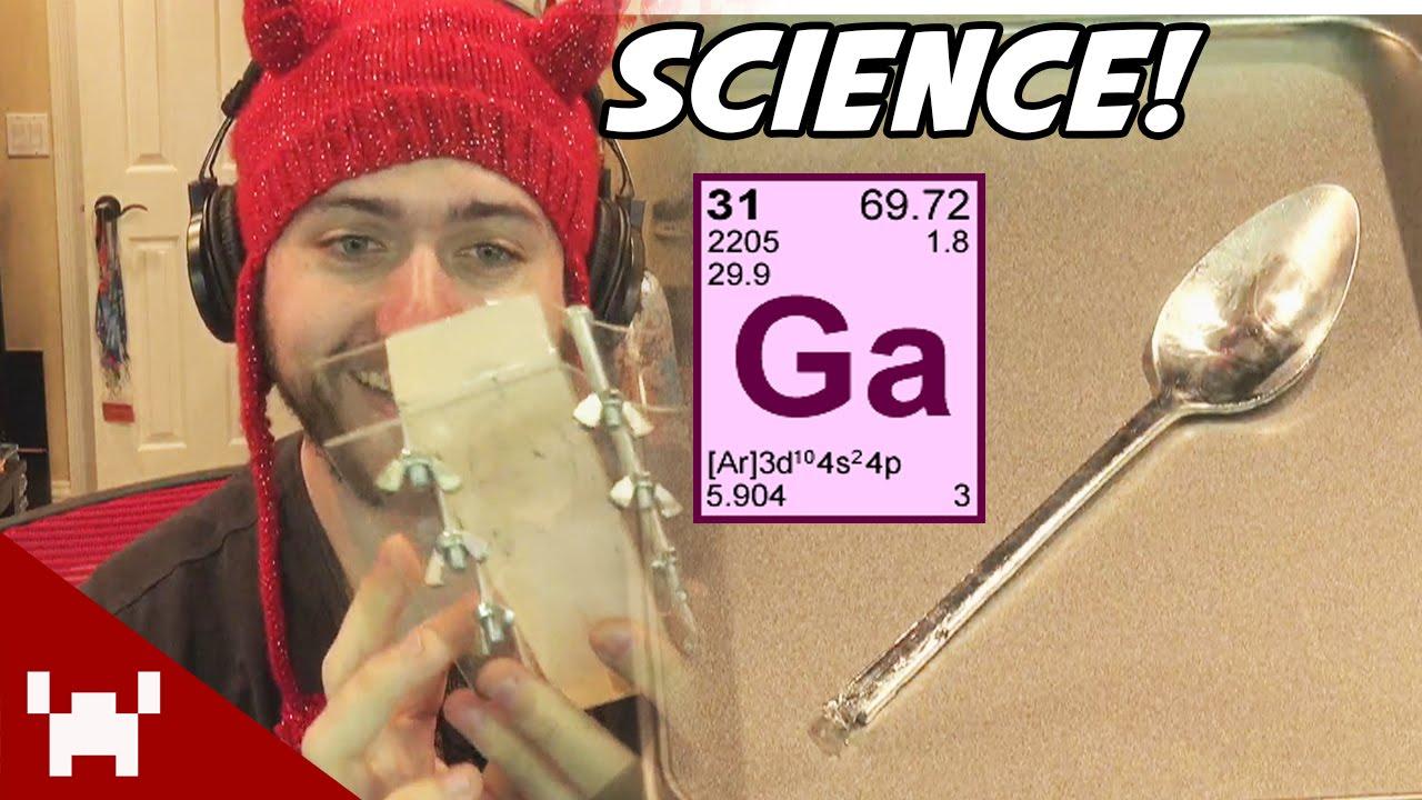 Gallium Spoon Mold Gallium Melting Spoon
