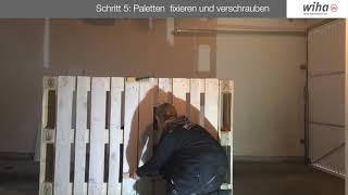 DIY Paletten-Bar Wiha Edition