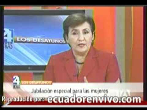 Jubilacion especial de la mujer si puede ser financiada por el Iess segun Velez