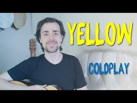 Yellow Guitar Tutorial | Coldplay - No Capo, Easy Guitar Lesson