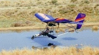 Flying an 1983 Quicksilver MX Ultralight with live instrument data Roy Dawson Realtor video