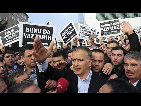 الصحفيون الأتراك ينتفضون ضد شرطة أردوغان