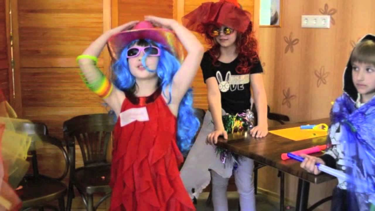 конкурсы детские на день рождения 10 лет: