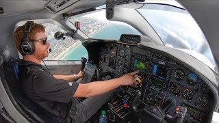 MAX ALTITUDE in the TBM850! - Miami to Atlanta IFR Flight VLOG