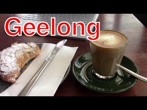Утренний кофе с круассаном на берегу залива Geelong Виктория day 2 video 1