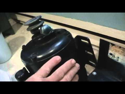Brass tumbler assembly details