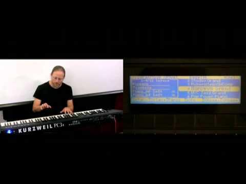 15 Kurzweil PC3 Series: Setup Mode Intro