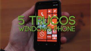 5 trucos en WindowsPhone | Nokia Lumia 620