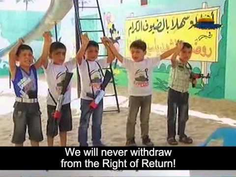 Hamas Summer Camp Brainwashes Gaza Children to Hate