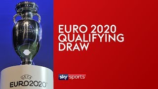 مراسم قرعة تصفيات يورو 2020