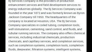 Bj Services Company Corporate Office Contact Information