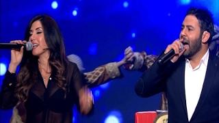 The ring :  حرب النجوم - حلقة لورا خليل و مجد فوعاني
