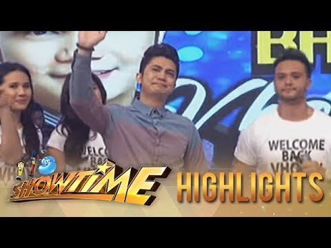 Vhong Navarro Makes Tearful Return On Showtime! video