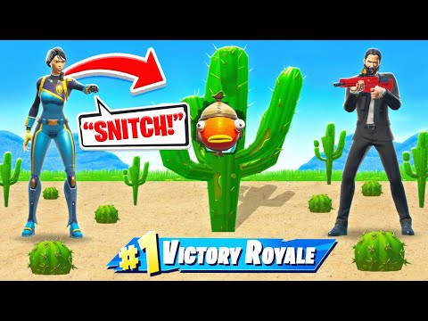 GODZILLA HIDE or SNITCH TO WIN *NEW* Game Mode in Fortnite Battle Royale