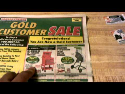Harbor Freight Tools Coupon Game