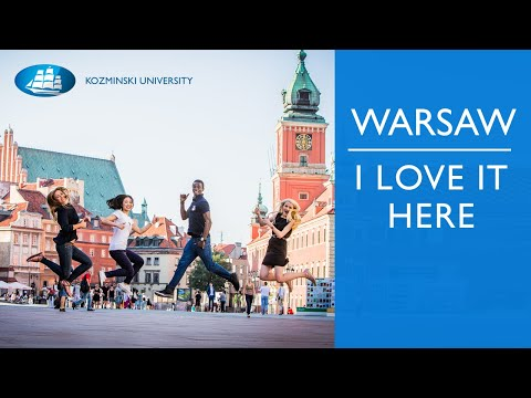 Warsaw, Poland - I love it here!