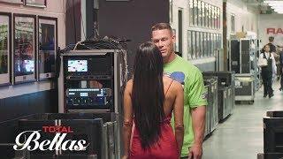 John Cena and Nikki Bella meet backstage after their breakup Total Bellas Preview June 3 2018