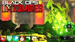 """""""IX"""" EASTER EGG HUNT! // UPGRADED SHIELD!! // BLACK OPS 4 ZOMBIES!"""