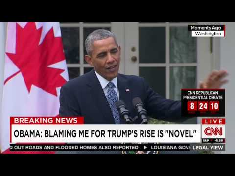 Obama On Whether He's Responsible For Trump