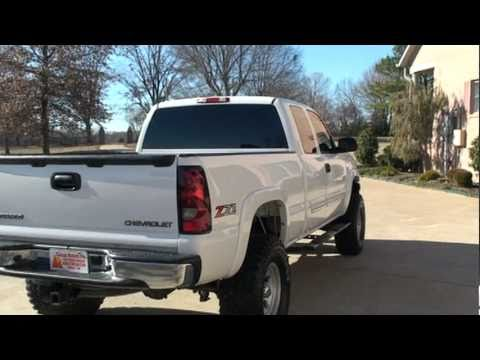 2004 CHEVROLET SILVERADO Z71 4 DOORS LIFTED SEE WWW,SUNSETMILAN COM