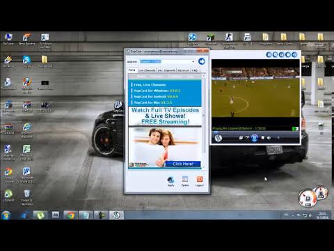 Kako gledati uzivo utakmice u HD (sopcast).