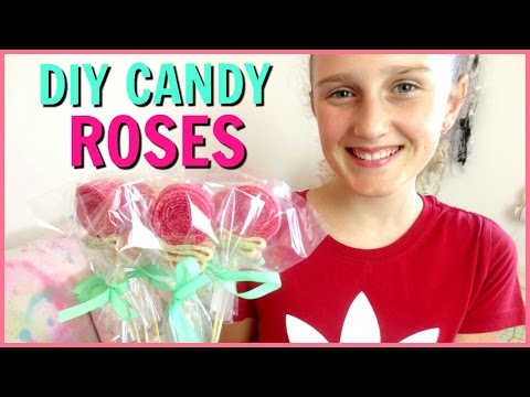 DIY Easy Candy Roses! - DIY Mother's Day Gift Ideas! Easy & Cheap Last Minute Gift