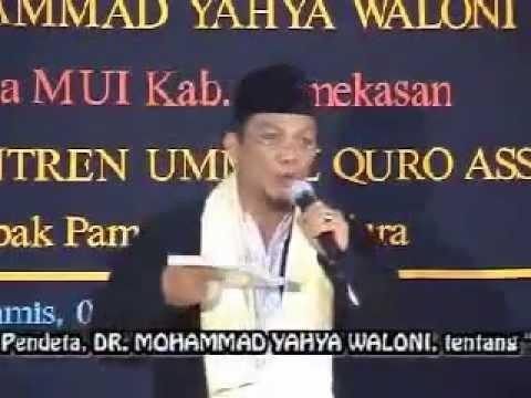 Pendeta DR. Yahya Waloni Beberkan Tentang Kristen. Part 4.