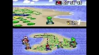 Super Mario Kart - 150cc Special Cup (Actual SNES Capture)