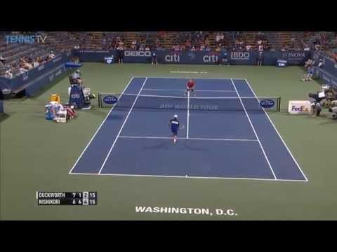 Nishikori Interplay Hot Shot Washington 2015