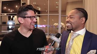 SHAWN PORTER BREAKS DOWN SPENCE VS GARCIA - REACTS TO SPENCE DISSING HIM AT FINAL PRESS CONFERENCE