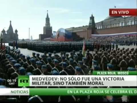 (Versión completa) El desfile militar en la Plaza Roja